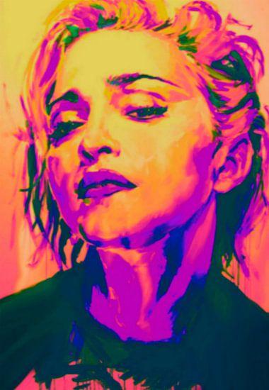Madonna Sexy Pop Art PUR
