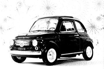 BELLA MACCHINA - Tipo 500 by Jean-Louis Glineur van Jean-Louis Glineur alias DeVerviers