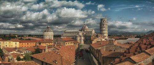 From the rooftop... Pisa Italia van