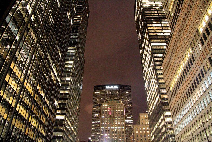 Park Avenue By Night van Gert-Jan Siesling