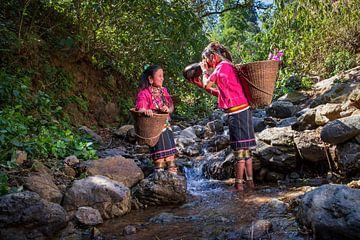 Mädchen des Ka Yaw-Stammes von Antwan Janssen