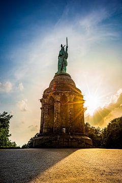 Het Hermann Monument bij Detmold van Günter Albers