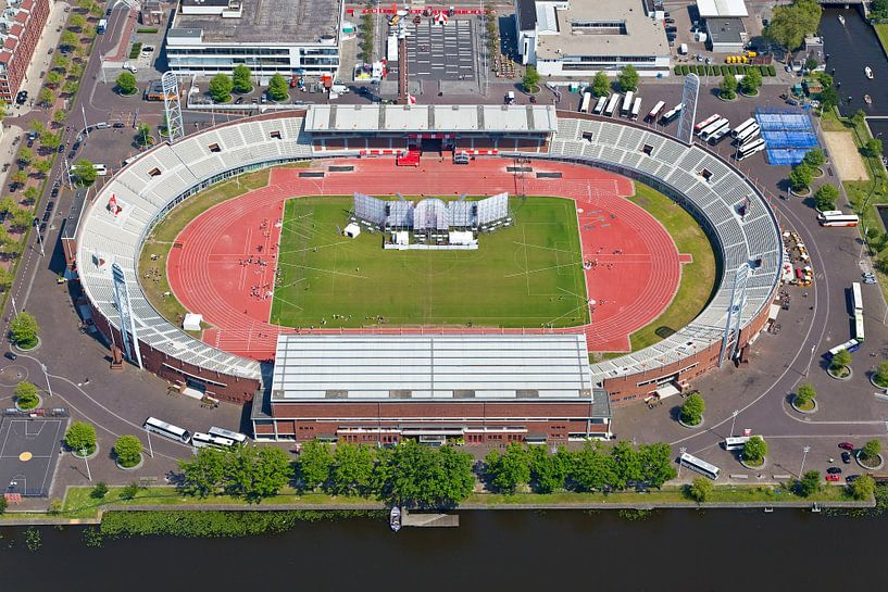 Luchtfoto Olympisch Stadion Amsterdam van Anton de Zeeuw