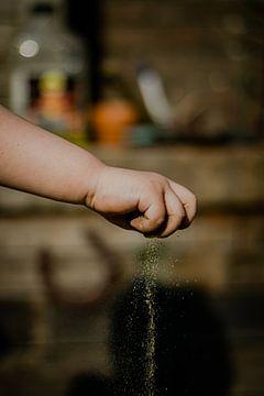 Een Kinderhand is Gauw Gevuld van Frank Dinnissen