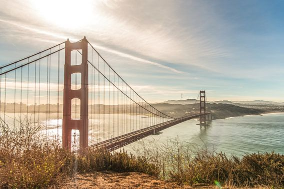 Golden Gate Bridge San Francisco van Bas Fransen