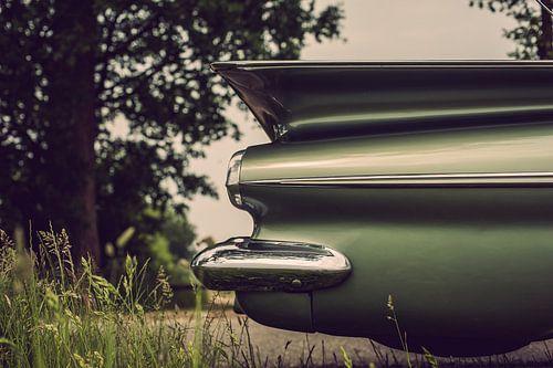 Een groene oldtimer