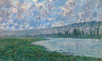 Die Seine bei Vétheuil, Claude Monet