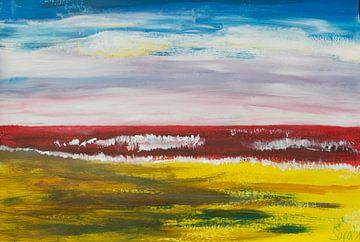 rotes Meer von Susanne A. Pasquay