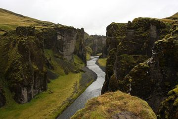 Canyon in Iceland von Louise Poortvliet