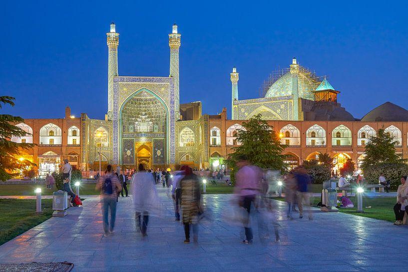 Moskee van de sjah in Isfahan van Jeroen Kleiberg