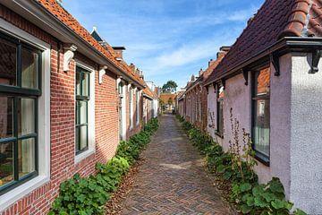 Rue de village la plus étroite des Pays-Bas sur Evert Jan Luchies