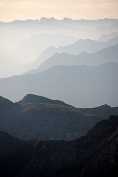 Zwitserse Alpen van Jana Behr