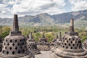 Borobudur sur Dries van Assen