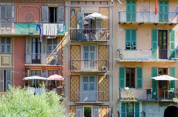 Kleurrijke woningen