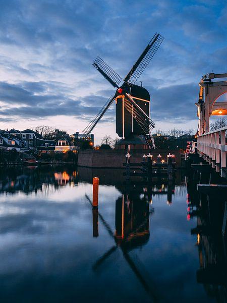 Molen de Put (Leiden) van Chris van Keulen