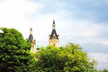 Prachtige kasteel van Schwerin van Jan Brons