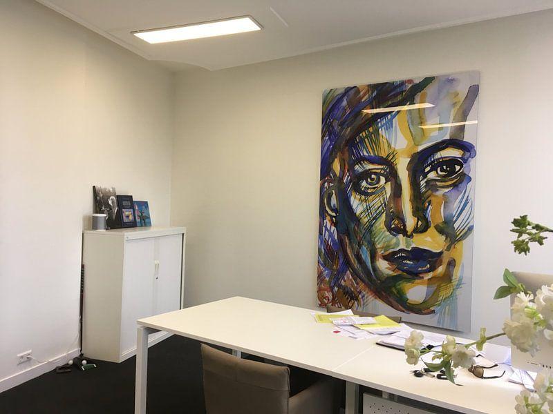 Klantfoto: Face Forward 020613 van Eva van den Hamsvoort