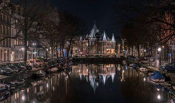 De Waag Nieuwmarkt Amsterdam van Mario Calma