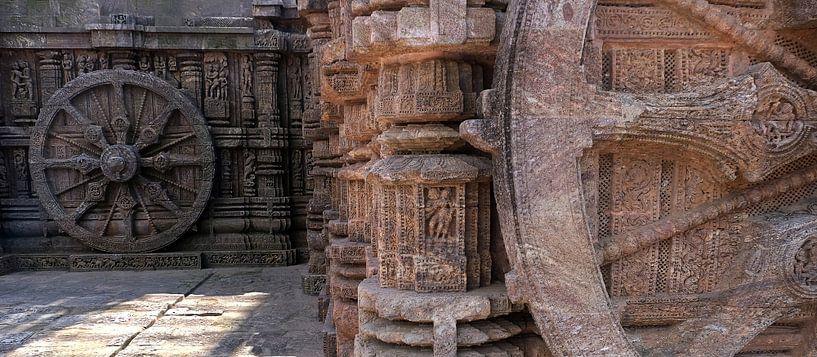 Zonnetempel van Konarak in Odisha, India (gezien bij vtwonen) van Affect Fotografie