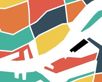 Map Rotterdam van Marco van Hoogdalem