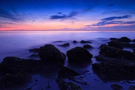 zeegezicht langs de Nederlandse kust