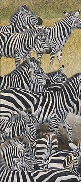 Zebrastreifen II von Russell Hinckley