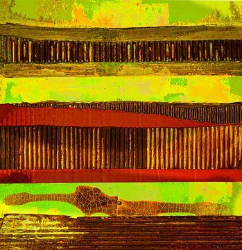Roeststrook 2 van Klaus Heidecker