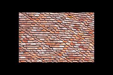 Dachziegel abstrakt von Arnout Bos