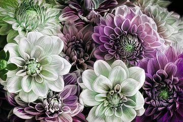 Nieuwe bloem nr. 5 van Lizzy Pe