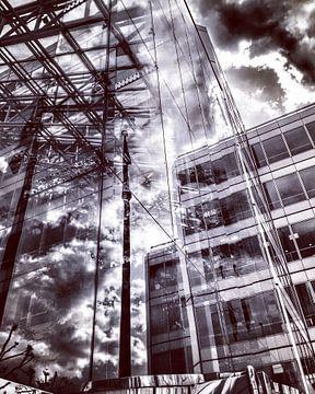reflectie in een modern kantoorgebouw in Londen von SPOOR Spoor