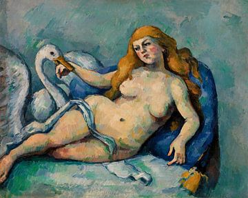 Paul Cézanne, Leda mit dem Schwan (ca. 1880)