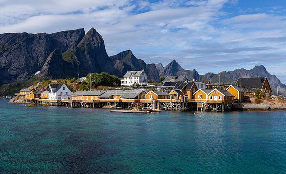 Sakrisøy, Lofoten, Noorwegen