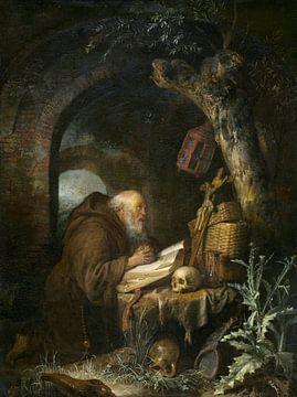 Der Einsiedler, Gerrit Dou