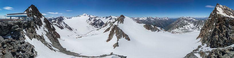 Wildspitze Panorama von Peter Moerman