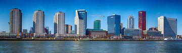 Boompjes in Rotterdam gezien vanaf Maaskade von Fons Simons