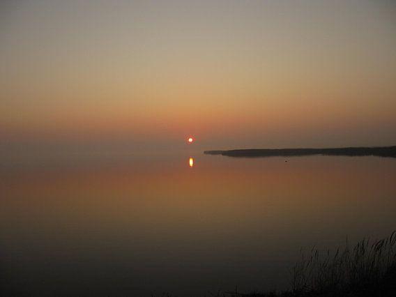 zonsondergang van Folbert Nicolai
