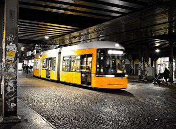 Station Alexanderplatz Berlijn  van