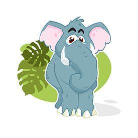 Kleiner Elefant von Jaap Tinholt