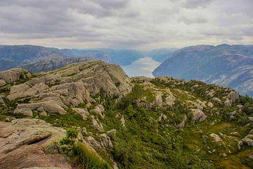 Noorweegse landschap van Remco de Zwijger