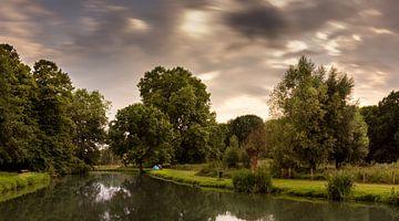 An evening at the fish pond (2016) van Ronald Smeets Photography