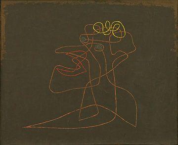 Line-art ca. 1913 van Rudy en Gisela Schlechter
