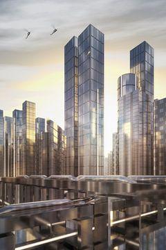 Future Skyline von Jörg Hausmann