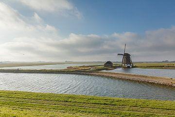 Oude Windmolen Het Noorden op Texel, Noord Holland von Martin Stevens