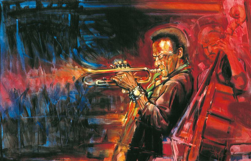 Miles Davis van Frans Mandigers