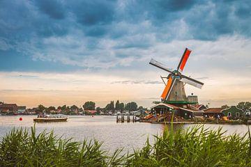 De Zaanse Schans met zijn windmolens van Hamperium Photography