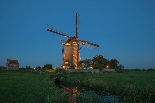 Verlichte molens Kinderdijk #1