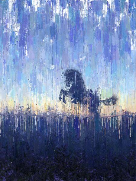Geschilderd Paard van Arjen Roos