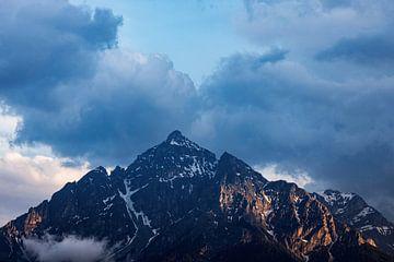 Le roi des montagnes sur