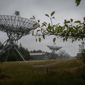 Radiotelescoop Dwingeloo Drenthe van Johan Vet