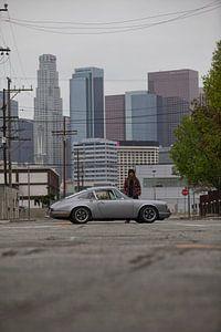 Magnus Walker 68R 911 - Stadtzentrum von L.A.